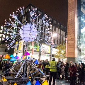 Liverpool One Lights Up